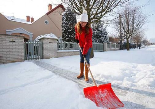 Get a head start shoveling