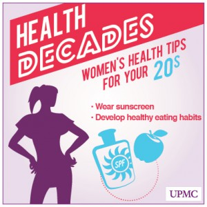 Health Tips for Women in Their 20s | UPMC HealthBeat
