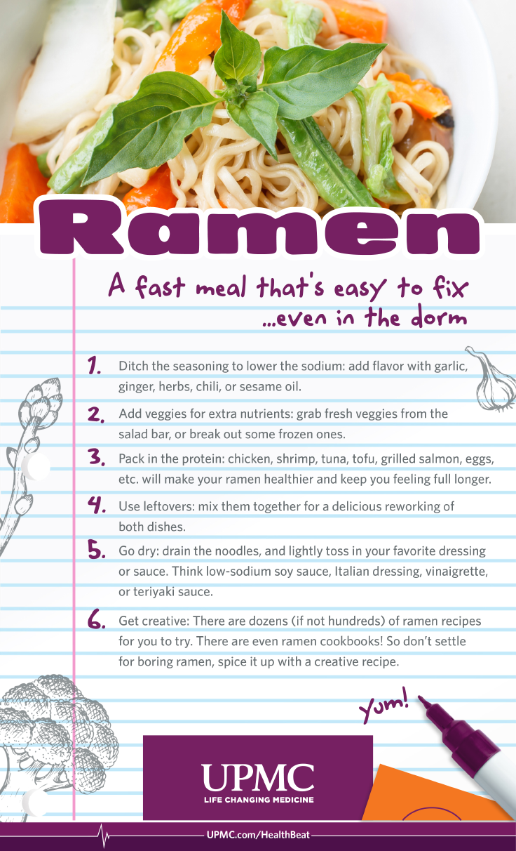 Learn these Ramen noodle hacks