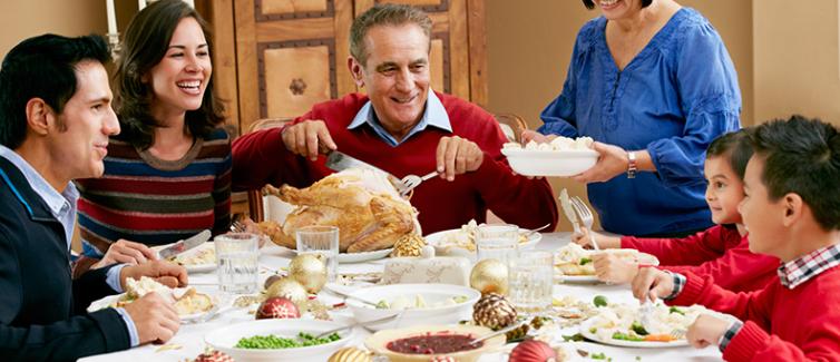 eat healthy holidays