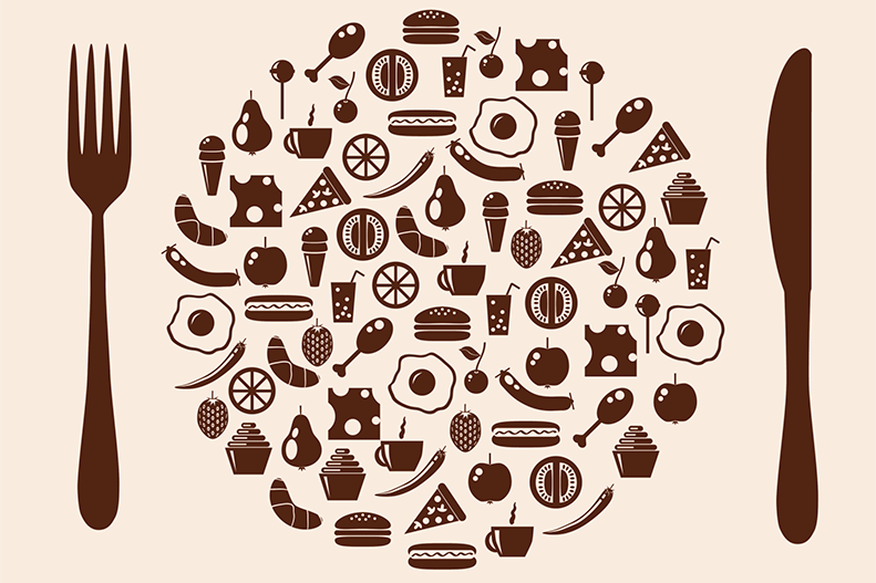 food plate graphic