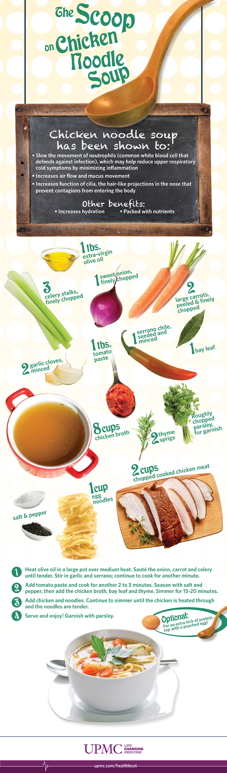 Health Benefits of Chicken Noodle Soup