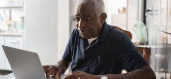 老年美国黑人