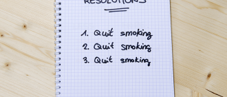 quit smoking new years resolution