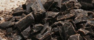 chocolate crumbs
