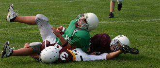 football collision