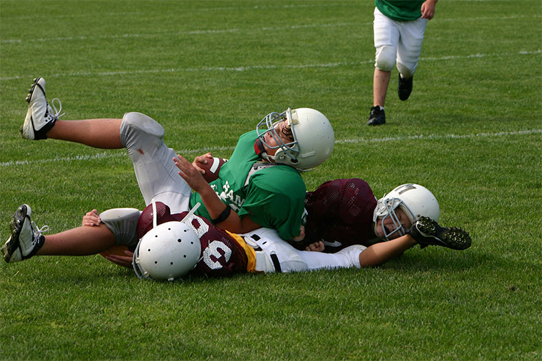 football collision