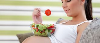 eating health pregnant woman