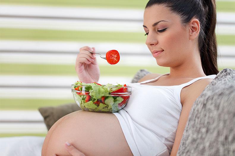 eating health pregnant woman