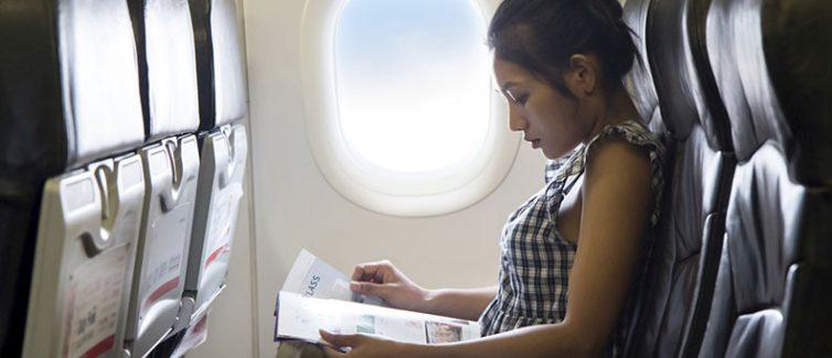 traveling on plane