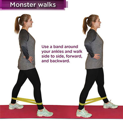 monster walk