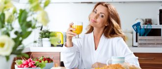 Discover this healthy mimosa recipe