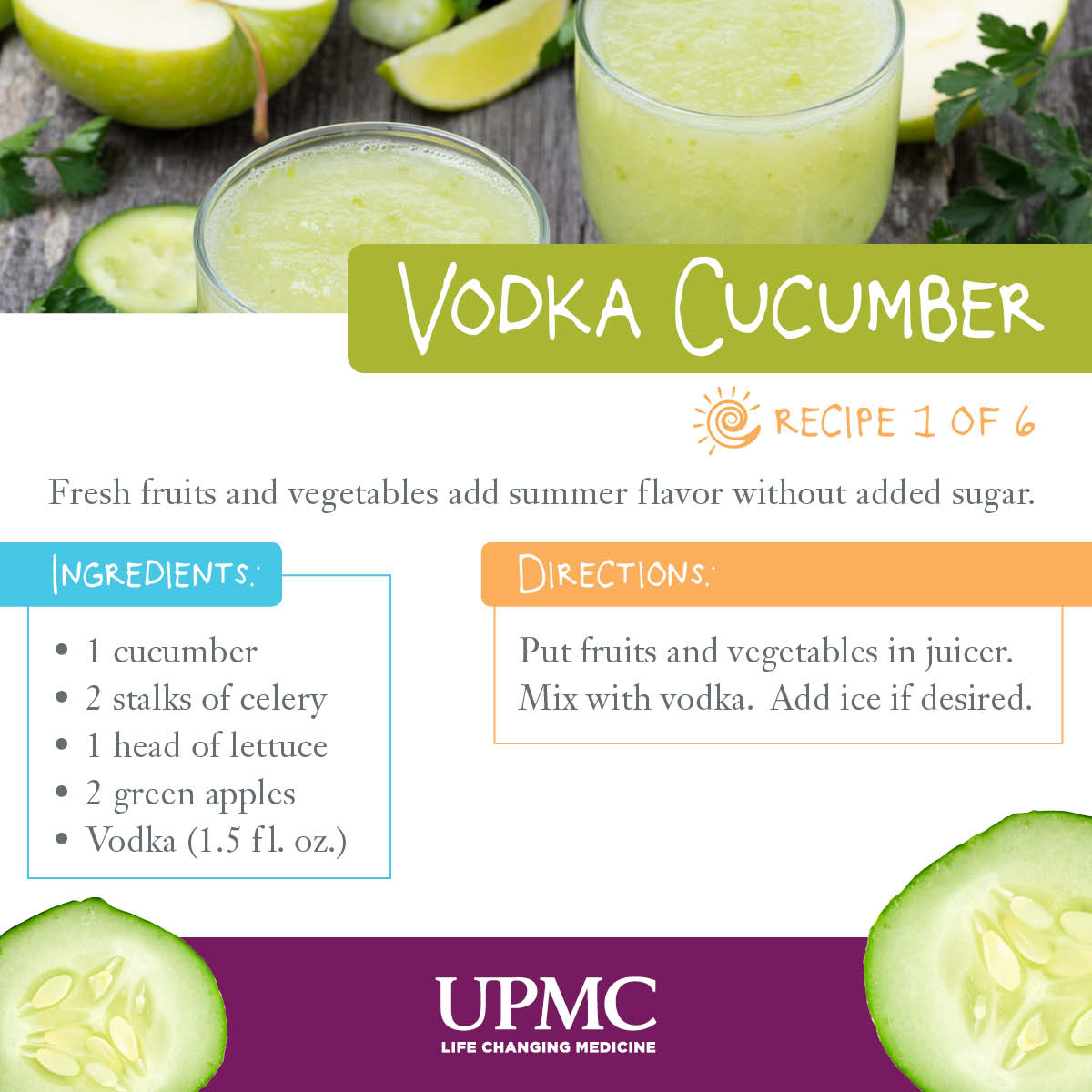 Try these healthier versions of summer drink recipes