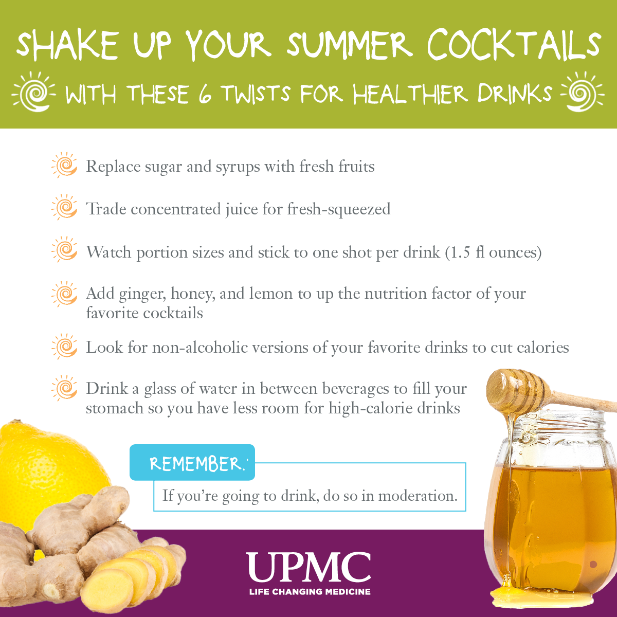 use these healthy drink tips and recipes