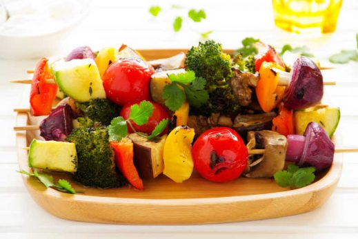 Healthy kebab recipe