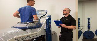 How a NASA-Created Anti-Gravity Treadmill Improves Rehab