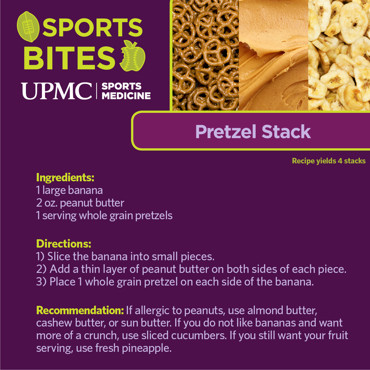 Learn how to make this healthy pretzel snack