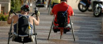 Ashli Molinero is a handcycling athlete.