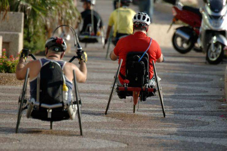 Ashli Molinero is a handcycling athlete.