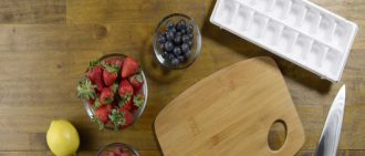 Video Recipe: Fruit-Infused Ice Cubes