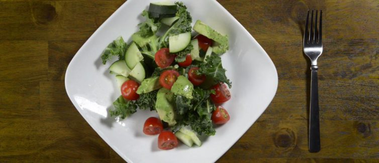 Learn more about this healthy avocado salad recipe