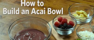 Video Recipe: How to Make an Acai Bowl