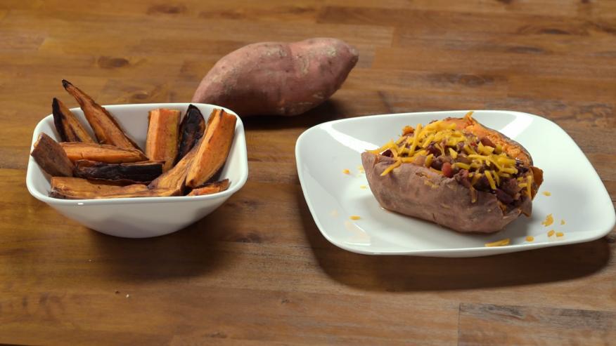 Video Recipe Two Ways To Prepare Sweet Potatoes Upmc Healthbeat