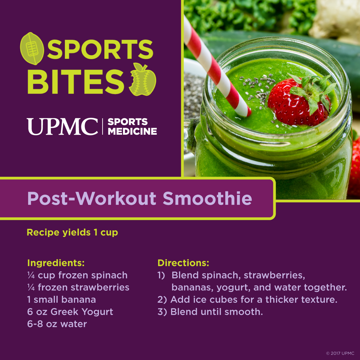 Learn how to make this post-workout smoothie