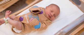 View photos of Magee newborns dressed as gingerbread for the holidays