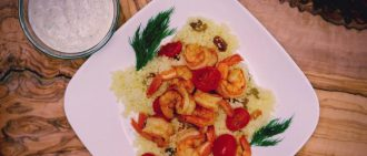 Video Recipe: Easy Shrimp and Couscous