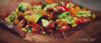Video Recipe: Refresh Your Salad with Pinto Bean Salsa