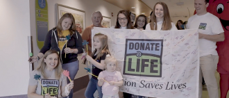 Video: See How UPMC Celebrated National Donate Life Month