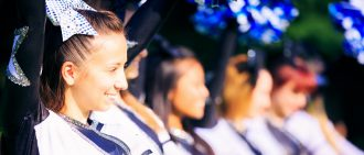 Learn more about preventing cheerleading injuries