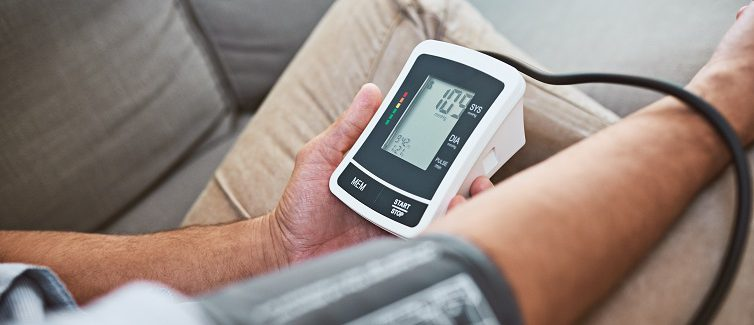 What is the connection between high blood pressure and stroke?