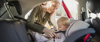 Learn car seat safety rules.