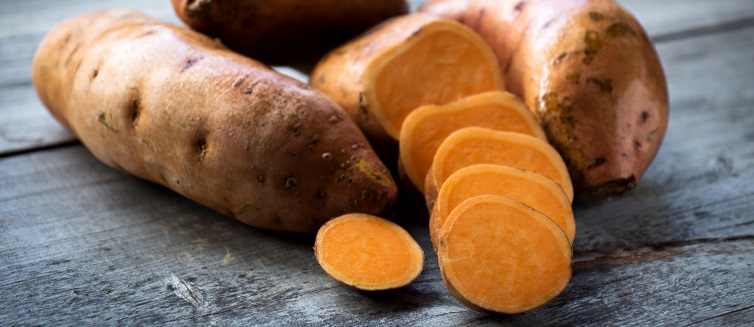 Nutritional sweet potatoes
