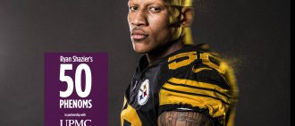 Ryan Shazier's 50 Phenoms Podcast: Staying Strong Through Several Setbacks