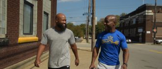 Clay Moorefield and Omar Foster