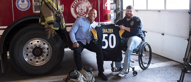 Justin Dawson and Ryan Shazier