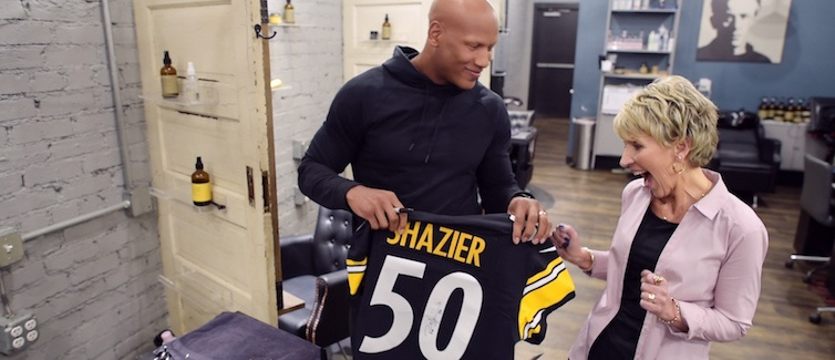 Ann Marie and Ryan Shazier