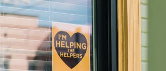 Learn more about how you can help the helpers.