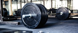 Competitive Weightlifter Trains with Sports Performance